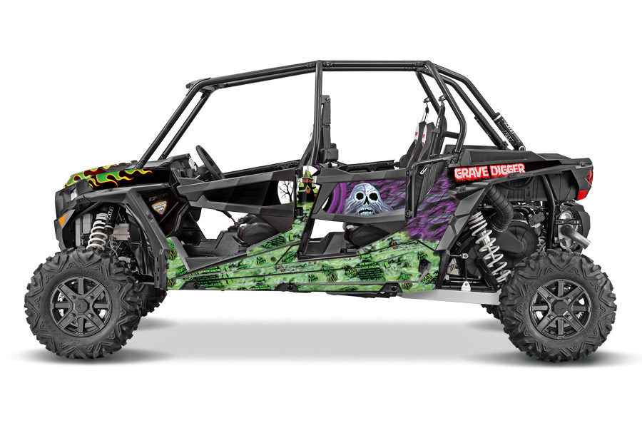 Grave Digger Polaris RZR 4 Door