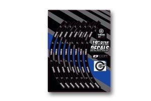 "Yamaha Rear 19"" Rim Decals"