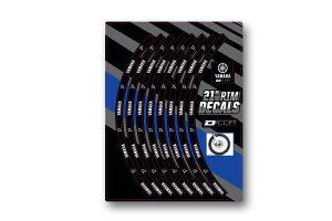 "Yamaha Front 21"" Rim Decals"