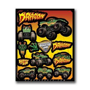 Dragon Decal Sheet