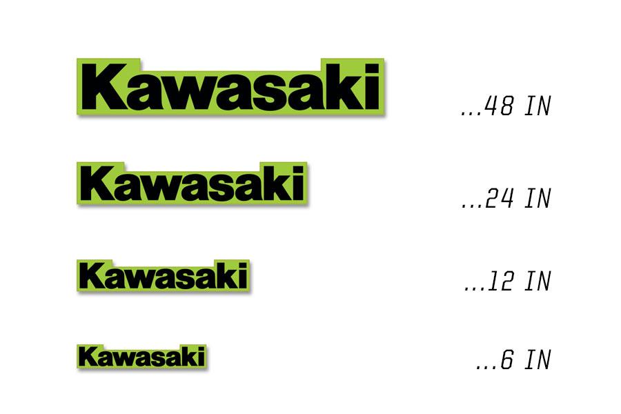 Kawasaki OEM Decals