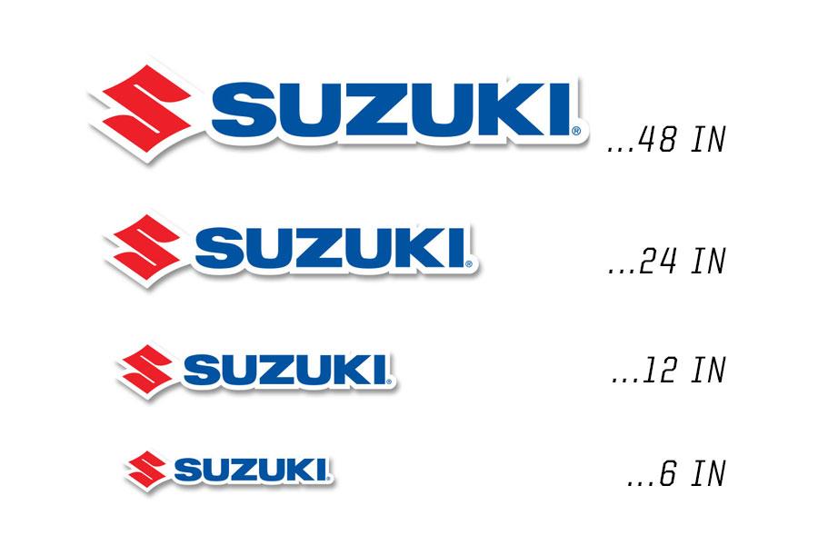 Suzuki OEM Decals