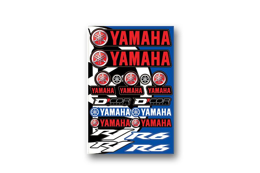 Yamaha Decal Sheet