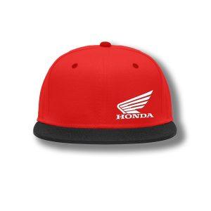 Honda Wing Hat Red