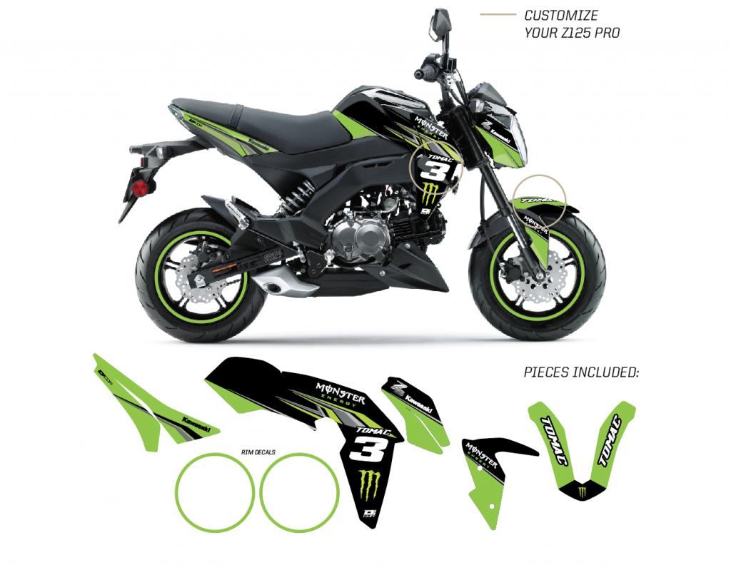 2017 Kawasaki Z125 Pro >> MEK Z125 PRO